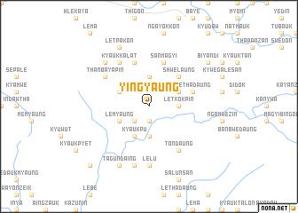map of Yingyaung