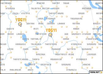 map of Yogyi