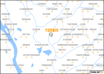 map of Yonbin