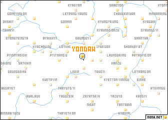 map of Yondaw
