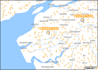 map of Yongdam-ni