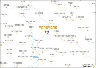 map of Yŏngyang