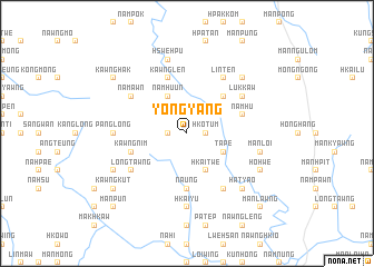 map of Yong-yang