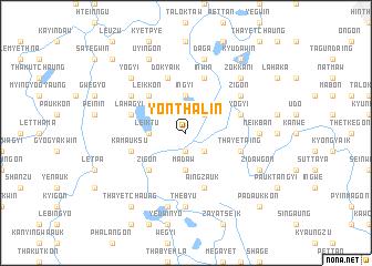 map of Yonthalin