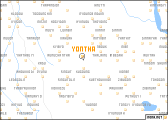map of Yontha