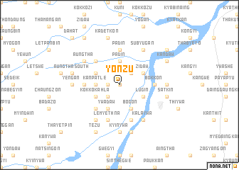 map of Yonzu