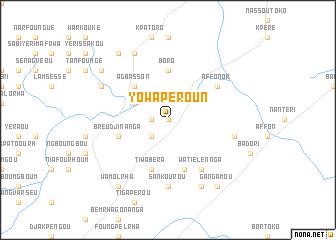 map of Yowaperoun