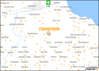 map of Ysohenane