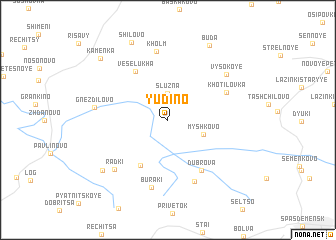 map of Yudino