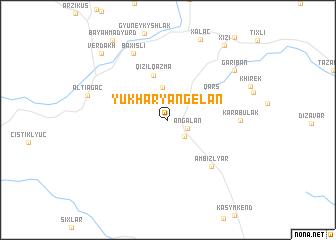 map of Yukhary Angelan