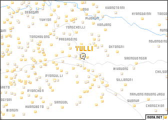 map of Yul-li