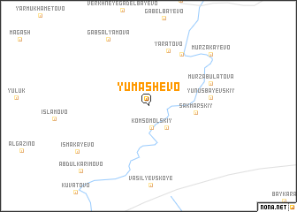 map of Yumashevo