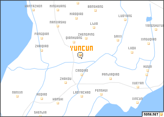 map of Yuncun