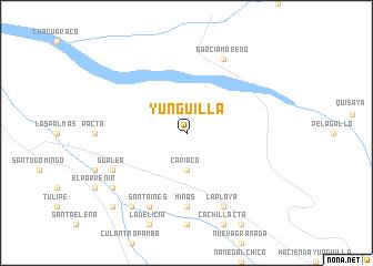 Yunguilla Ecuador Map Yunguilla (Ecuador) map   nona.net