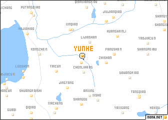 map of Yunhe