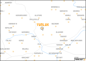 map of Yünlük