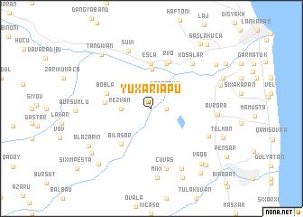 map of Yuxarı Apu