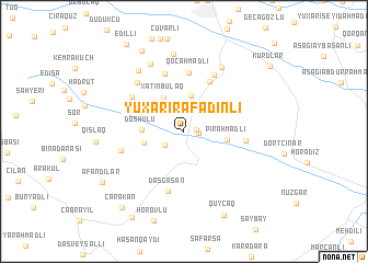 map of Yuxarı Rǝfǝdinli