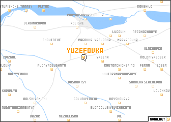 map of Yuzefovka