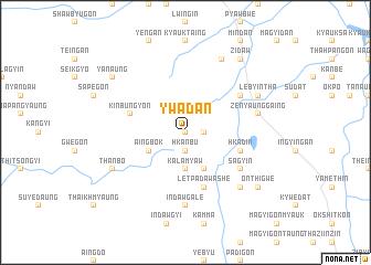 map of Ywadan