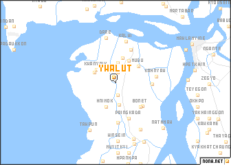 map of Ywalut