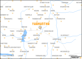 map of Ywamuntha