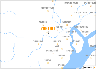 map of Ywathit