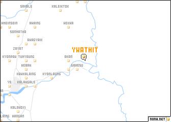 map of Ywathit