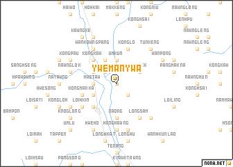 map of Ywemanywa
