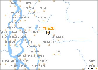 map of Ywezu