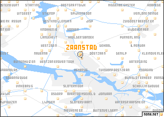 Zaanstad Netherlands map nonanet