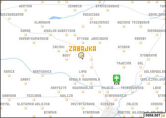 map of Zabajka