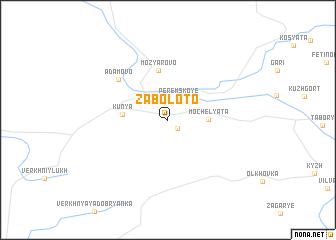 map of Zaboloto