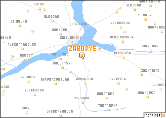 map of Zabor\