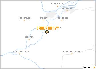 map of Zaburunnyy