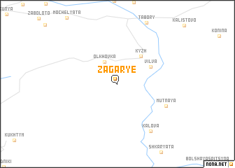 map of Zagar\