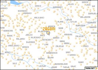 map of Zagoni