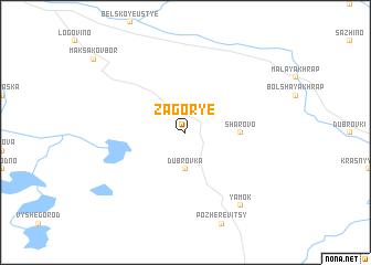 map of Zagor\