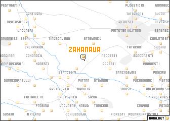 map of Zahanaua