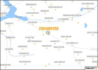 map of Zakhar\