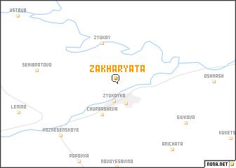 map of Zakharyata