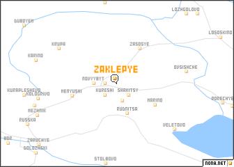 map of Zaklep\