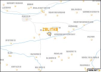 map of Zalitka