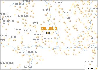 map of Žaljevo