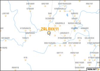 map of Zalokkyi