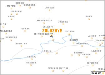 map of Zaluzh\