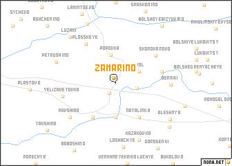 map of Zamarino