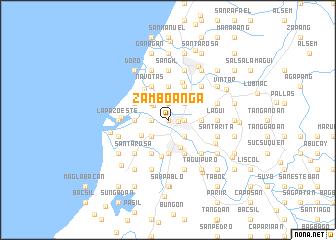 map of Zamboanga