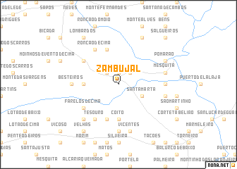 map of Zambujal