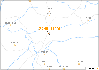 map of Zambulindi